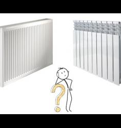مقایسه رادیاتور پنلی با آلمینیومی